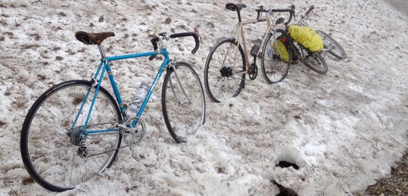 Colle Tenda / Schneefeld