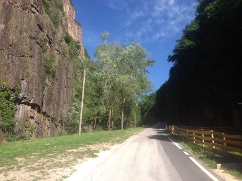 Rennradtour Südtiroler Unterland / Brantental