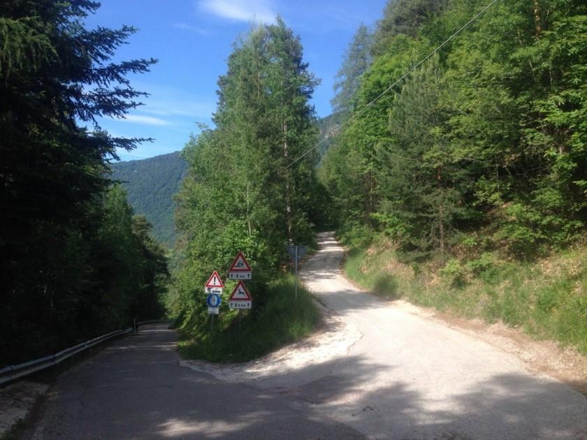 Rennradtour Südtiroler Unterland / Tschuegg