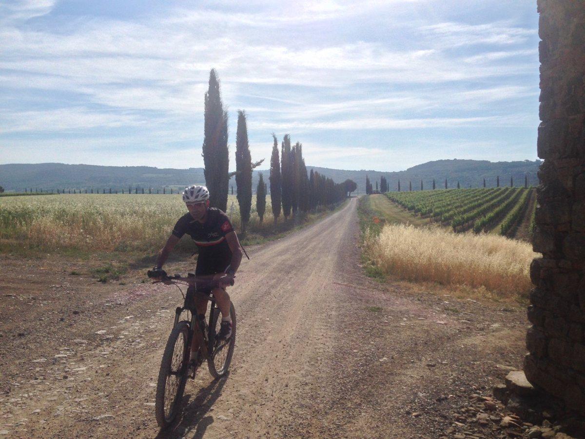 Radtour Toscana 2015 / Marino