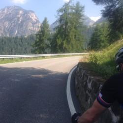 Rennradtour Nigerpass - Karerpass / Kurven