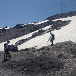 Passo Stelvio - Passo Umbrail / Schnee