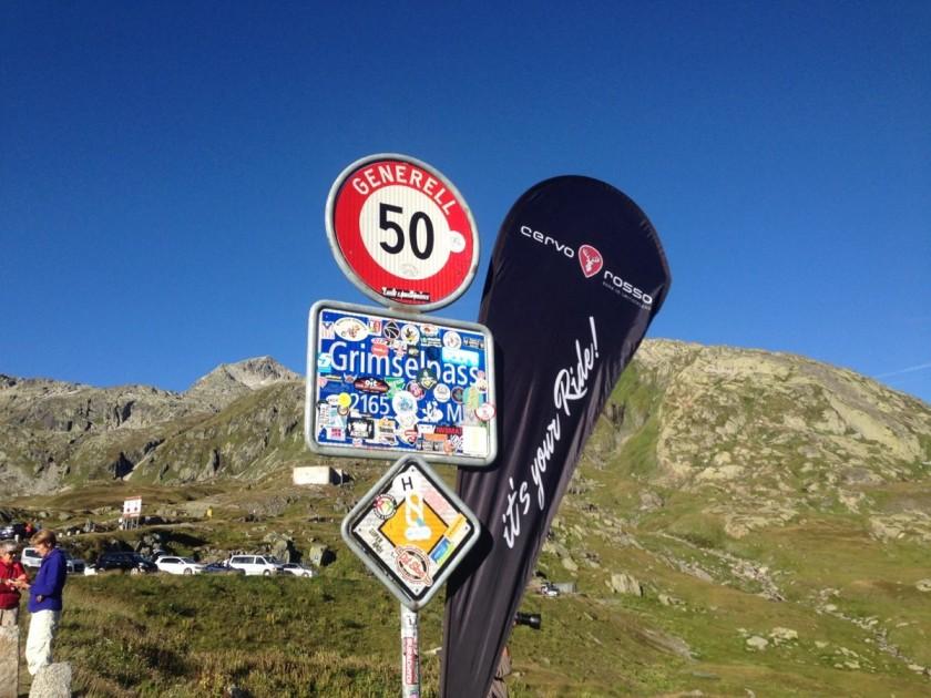 Alpenbrevet Platin / Grimselpass (2165m)