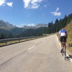 Alpenbrevet Platin / Start Lukmanierpass
