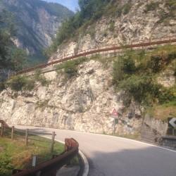Rennradtour Passo Brocon / Auffahrt