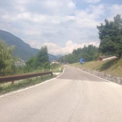 Rennradtour Passo Brocon / Castello Tesino