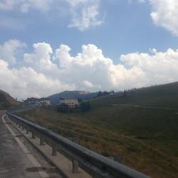 Rennradtour Passo Brocon / Passhöhe