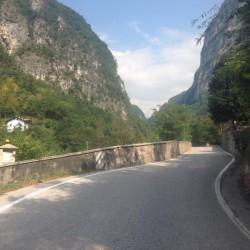 Rennradtour Passo Brocon / Start