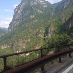 Rennradtour Passo Brocon / Traumstrasse