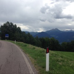 Rennradtour Falzeben / Hafling