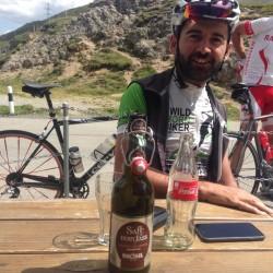 Rennradtour Graubünden / Hannes