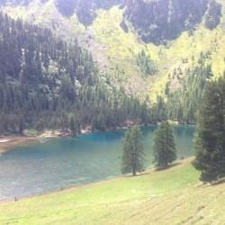 Rennradtour Graubünden / Albulapass See