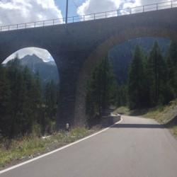 Rennradtour Graubünden / Albulapass Viadukt