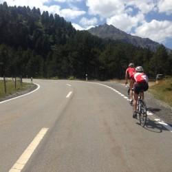 Rennradtour Graubünden / Albulapass Westrampe