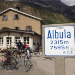 Rennradtour Graubünden / Albulapass (2315m)