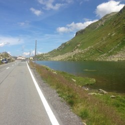 Rennradtour Graubünden / Flüelapass Finale