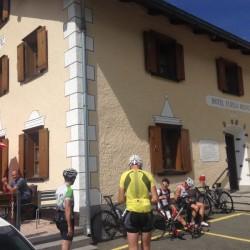 Rennradtour Graubünden / Flüelapass Hospiz
