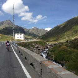 Rennradtour Graubünden / Flüelapass Ostrampe