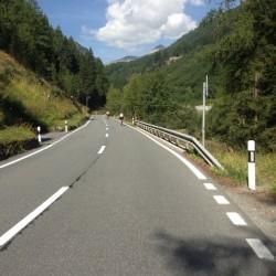 Rennradtour Graubünden / Flüelapass Start