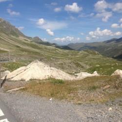 Rennradtour Graubünden / Flüelapass Westrampe