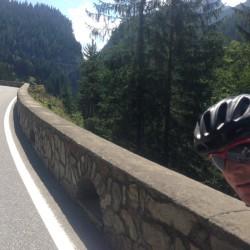 Rennradtour Graubünden / Peter