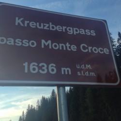 Stoneman Road / Passo Monte Croce (1636m)