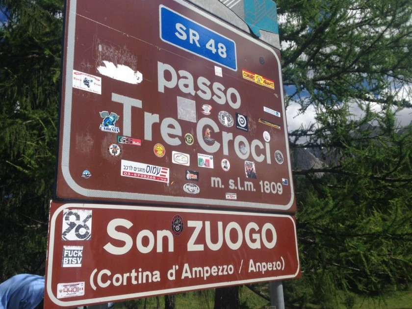 Stoneman Road / Passo Tre Croci (1809m)