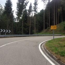 Rennradtour Monte Zoncolan / 1000m