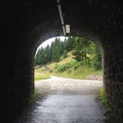 Rennradtour Monte Zoncolan / Tunnel