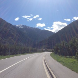 Rennradtour Martelltal / Morter