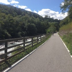 Rennradtour Martelltal / Vinschger Radweg