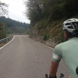 Rennradtour Veneto / Anstieg