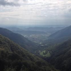 Rennradtour Veneto / Aussicht Praderadego