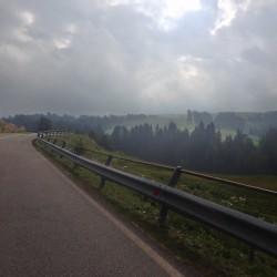 Rennradtour Seiseralm / Herbst