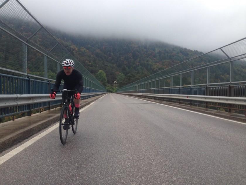 Herbstrunde Dolomiten / Schwarzenbachbrücke
