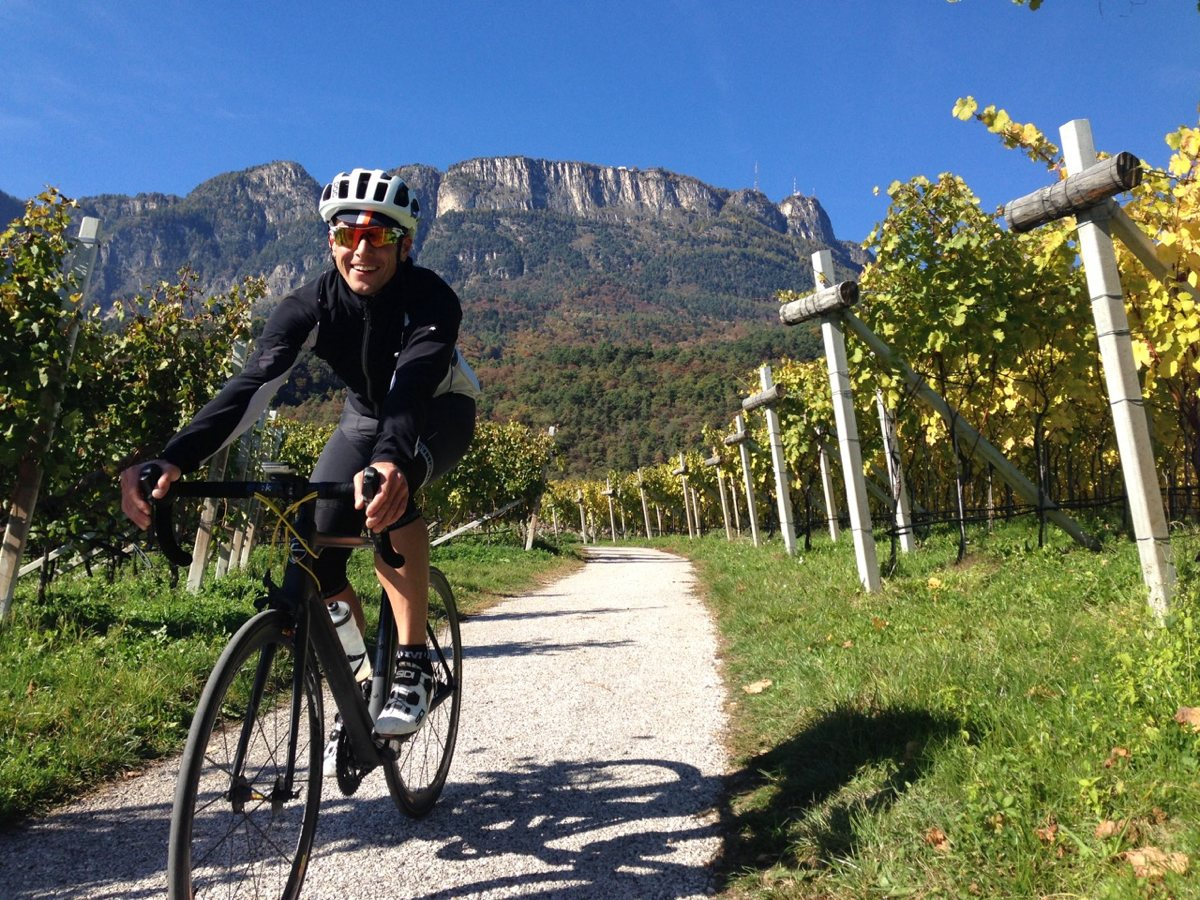 Rennradtour Eppan / Weinberge