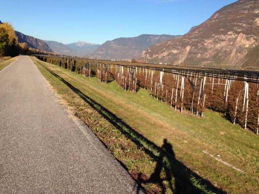 Rennradfahren Südtirol / Perfekte Radwege