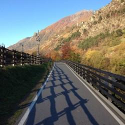 Herbsttour Stilfserjoch / Radweg