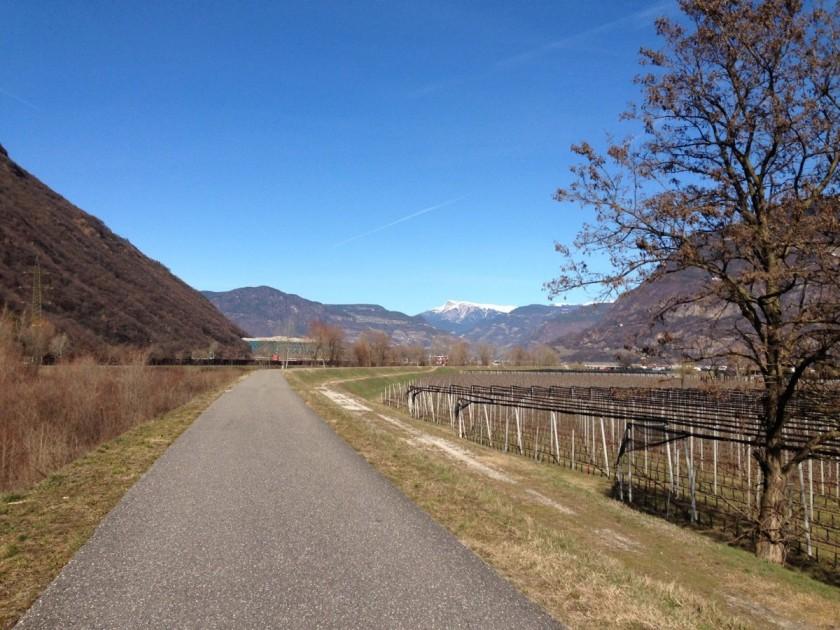 Rennradtour Südtirols Süden / Winter