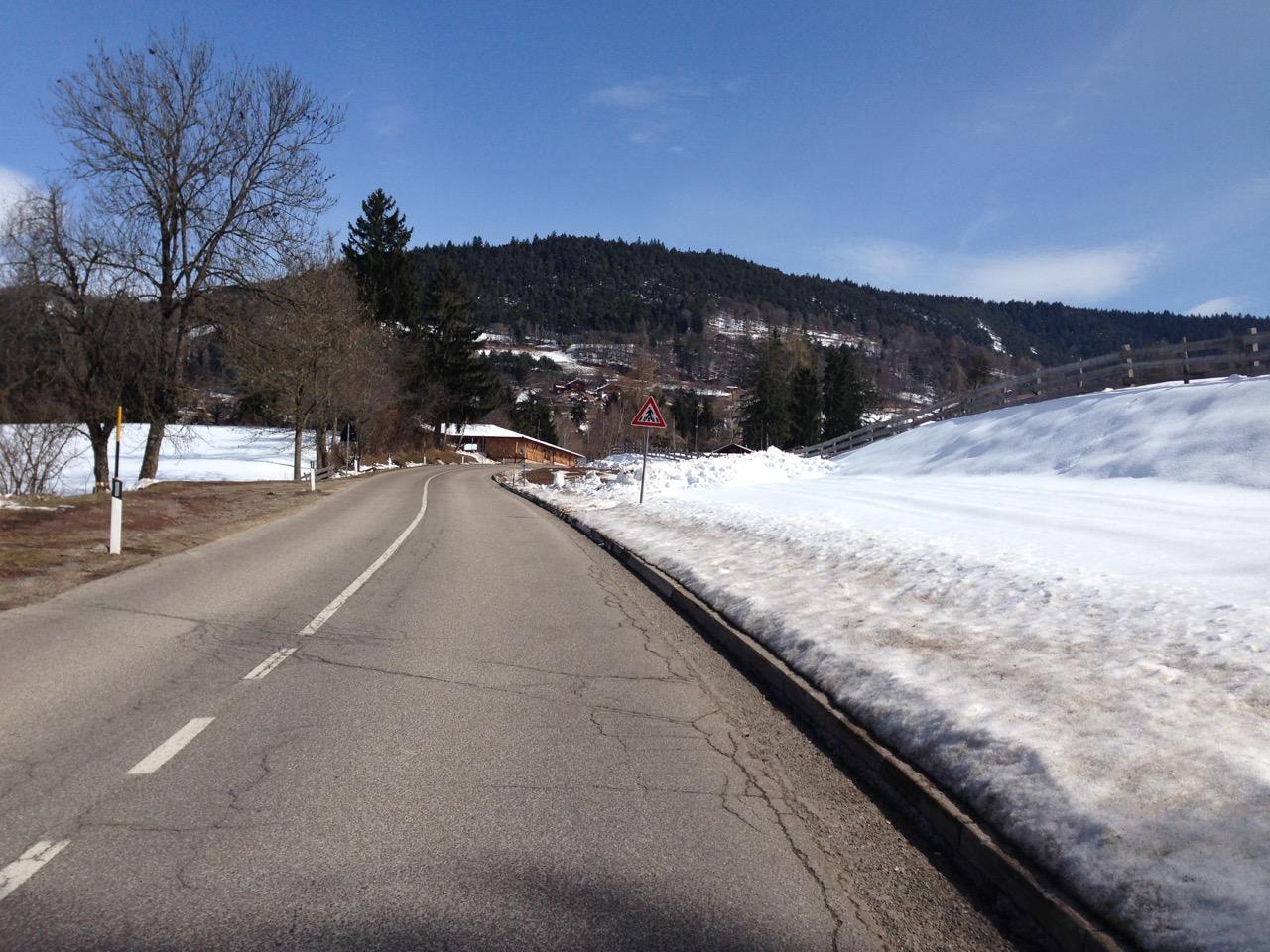 Rennradtour Mölten / Altschnee