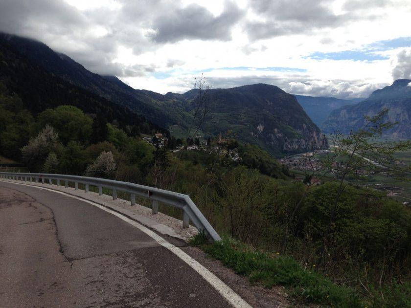 Rennradtour Gfrill/ Blick nach Süden