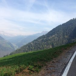 Rennradtour Pemmern / Aussicht Penserjoch