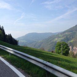 Rennradtour Pemmern / Aussicht Süden