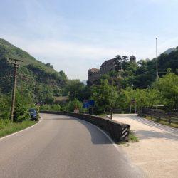 Rennradtour Pemmern / Einfahrt Sarntal in Bozen