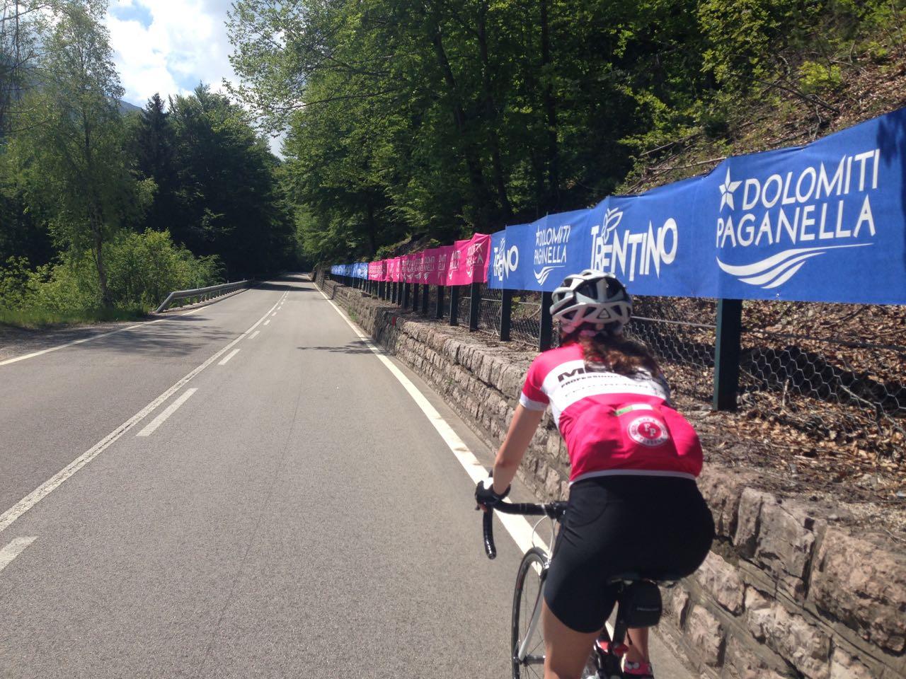 Rennradtour Gardasee / Andalo