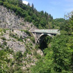 Rennradtour Gardasee / S Sarchebrücke