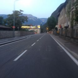 Rennradtour Reschen - Brenner: Bozen