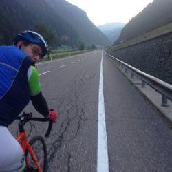 Alpencross Bozen - Augsburg: Falsches Trikot