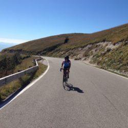 Rennradtour Monte Grappa / Endspurt