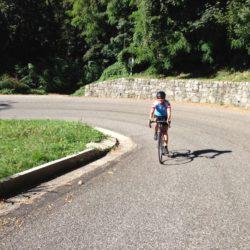 Rennradtour Monte Grappa / Kehren